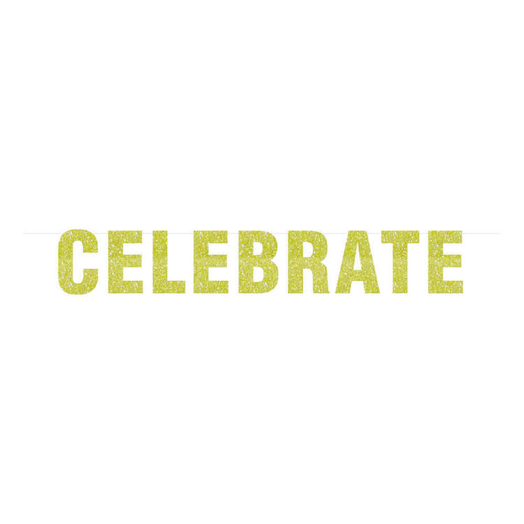 Artwrap Celebrate Glitter Bunting