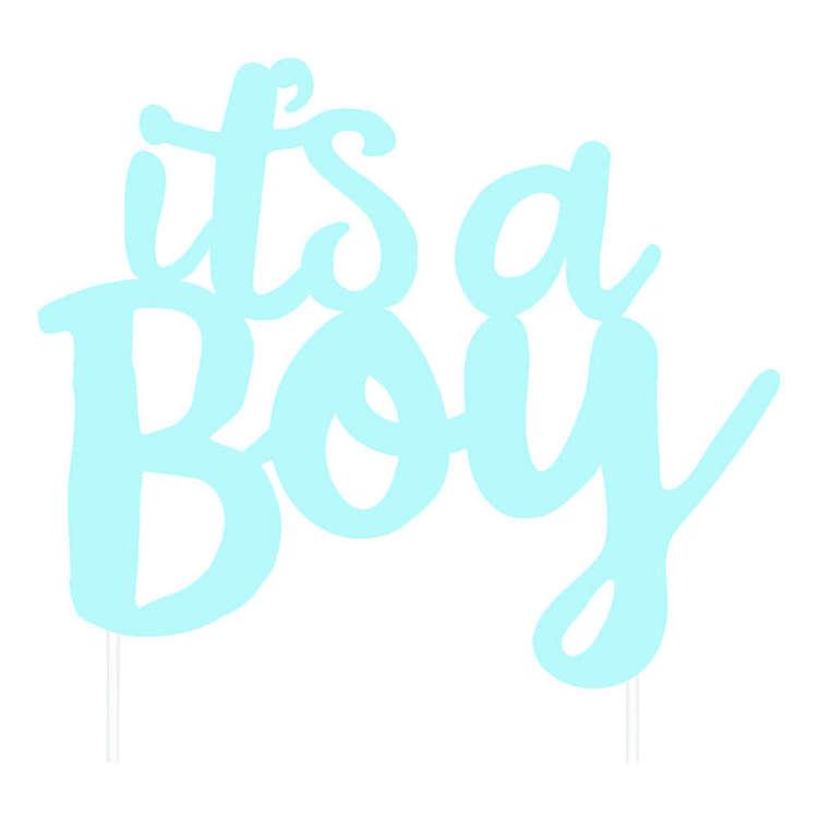 Artwrap Baby Boy Cake Topper