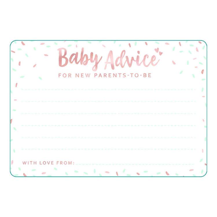 Artwrap Baby Milestone Card 30 Pack