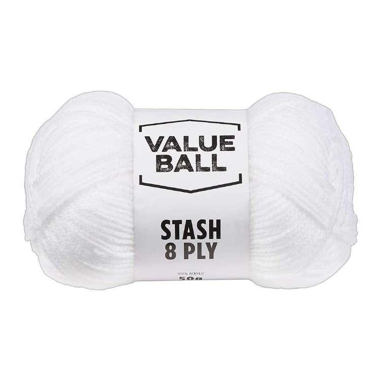 Value Ball Stash 8 Ply Acrylic Yarn