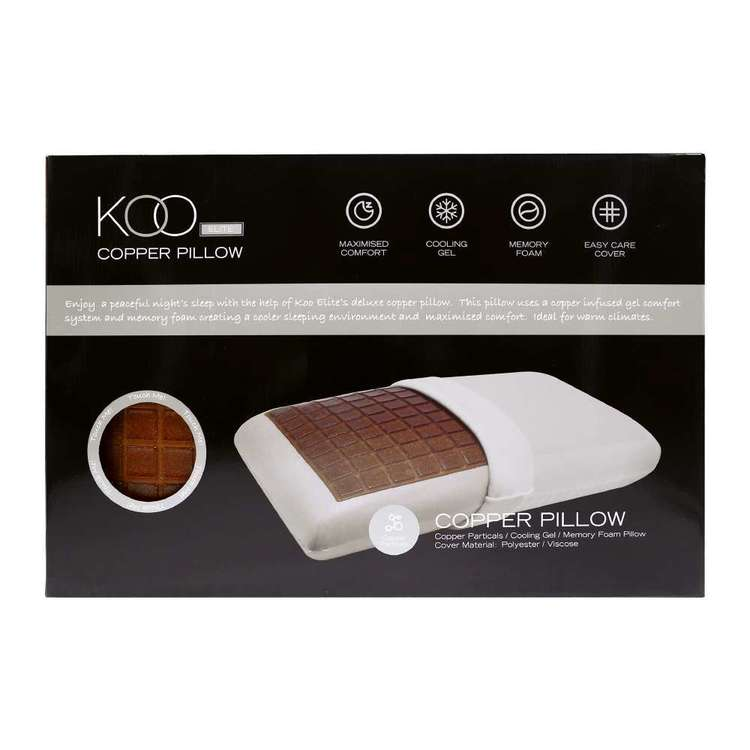 KOO Elite Copper Infused Pillow