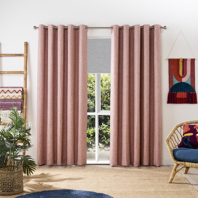 KOO Boucle Eyelet Curtains