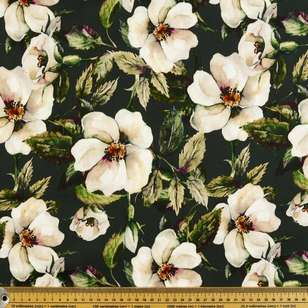 Camelia Digital Printed Cotton Sateen Fabric