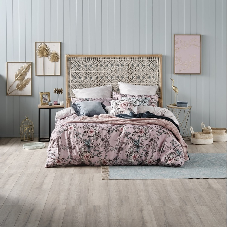 Ombre Home Sakura Bloom Avery Quilt Cover Set