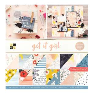 Die Cuts With A View Get It Girl Paper Pad