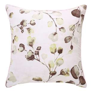 Ombre Home Sakura Bloom Hazel Leaf Cushion