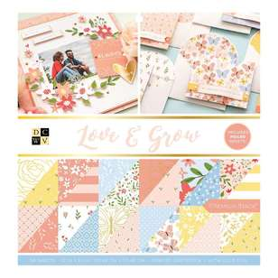 Die Cuts With A View Love And Grow Paper Pad