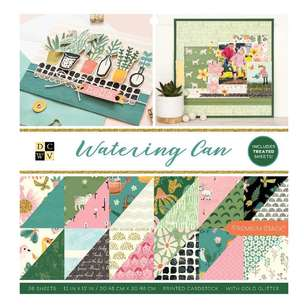 Die Cuts With A View Watering Can Paper Pad