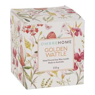 Ombre Home Boho Bloom Golden Wattle Scented Candle