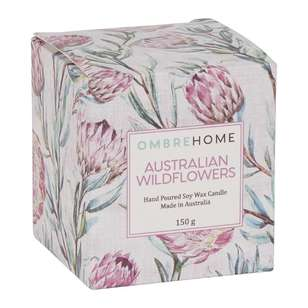 Ombre Home Boho Bloom Australian Wildflowers Scented Candle