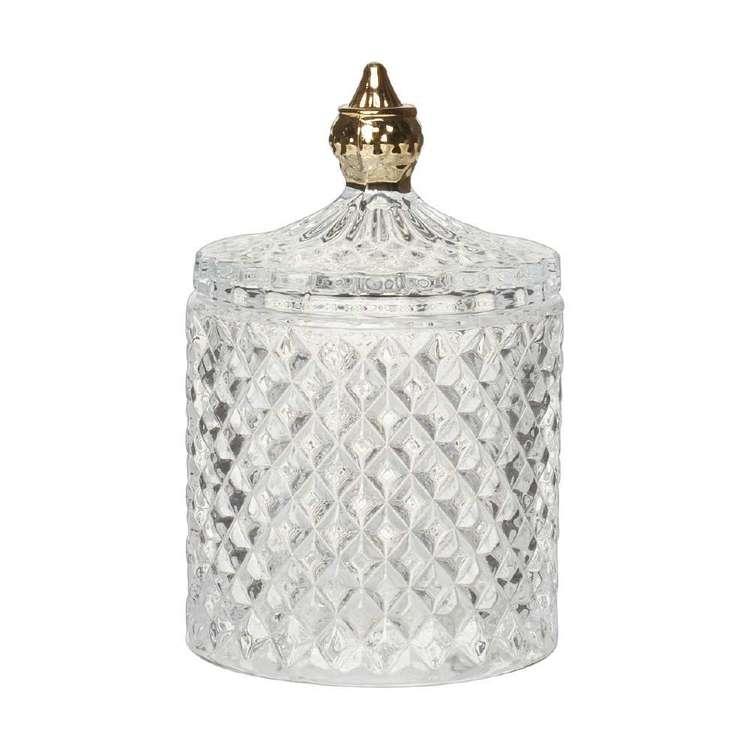 Living Space Eclectic Treasures Trinket Jar With Lid