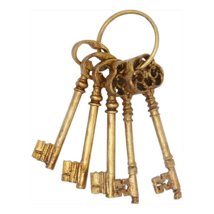 Living Space Eclectic Treasures Deco Keys
