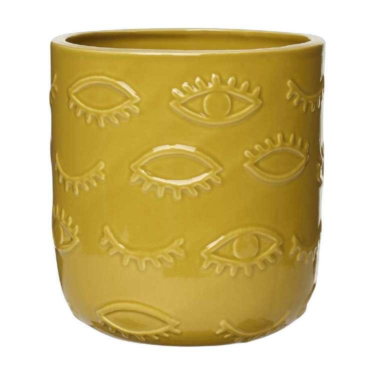 Living Space Eclectic Treasures Eye Planter Pot