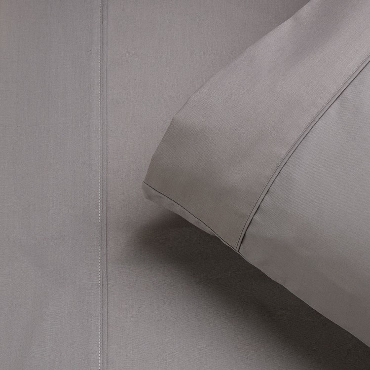 KOO 250 Thread Count Cotton Rich Bolster Pillowcase
