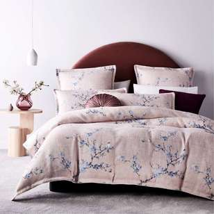 Platinum Yumi Quilt Cover Set