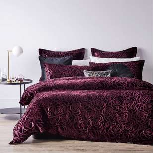 Platinum Odette Quilt Cover Set