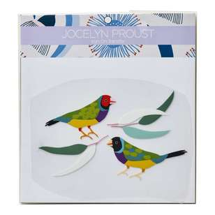 Jocelyn Proust Gouldian Finch Iron On Transfer