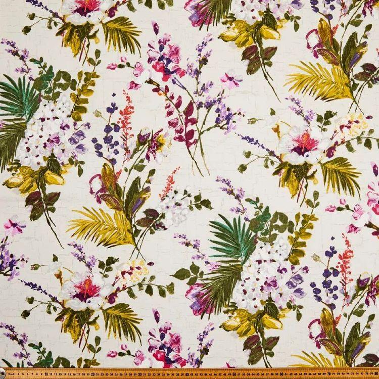 Lancashire Mills Half Panama Tazanna Fabric