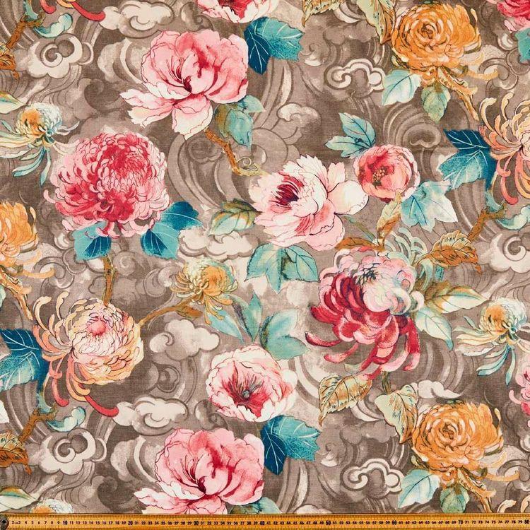 Lancashire Mills Half Panama Orient Fabric