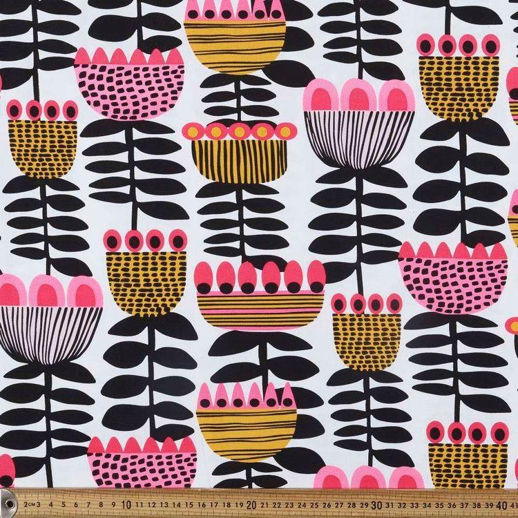 Kirsten Katz Tulip Time Curtain Fabric