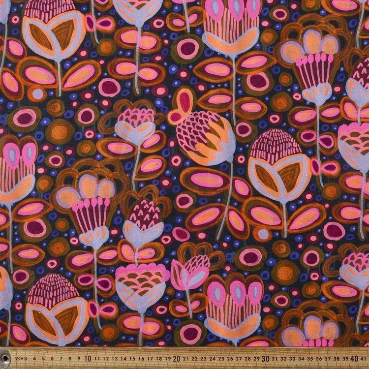 Kirsten Katz Boho Stitched Curtain Fabric