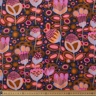 Kirsten Katz Boho Stitched Curtain Fabric