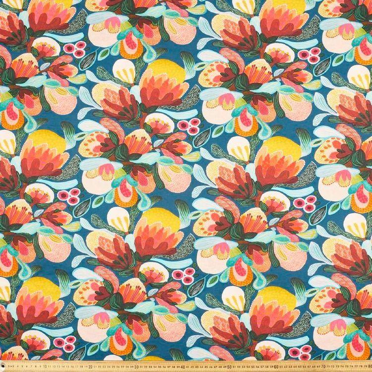 Kirsten Katz Bush Flora Curtain Fabric