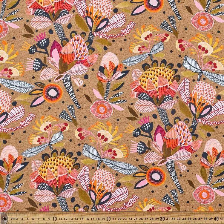 Kirsten Katz Protea Pop Curtain Fabric