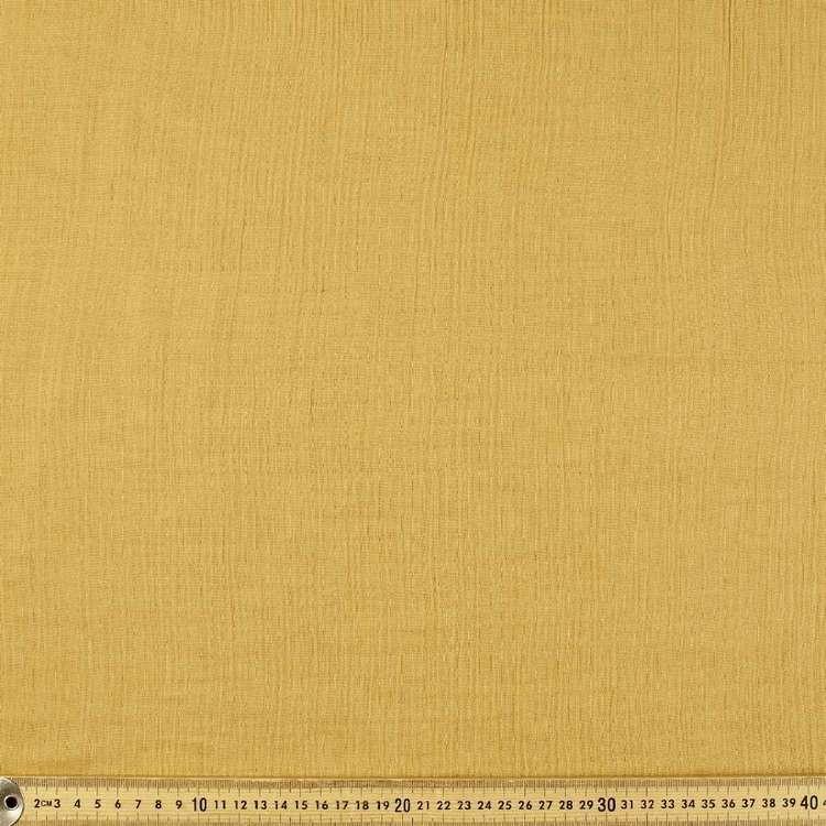 Plain 130 cm Crinkle Double Cloth Fabric