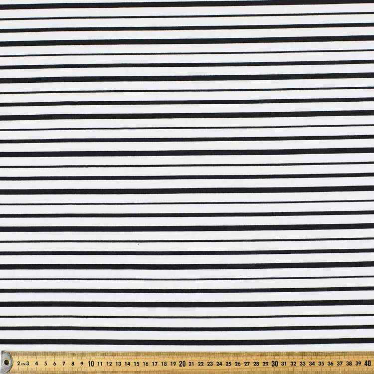 Stripe Ponte Knit 160 cm Fabric
