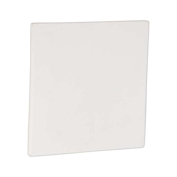 Darice Ceramic Unfin Square Plaque