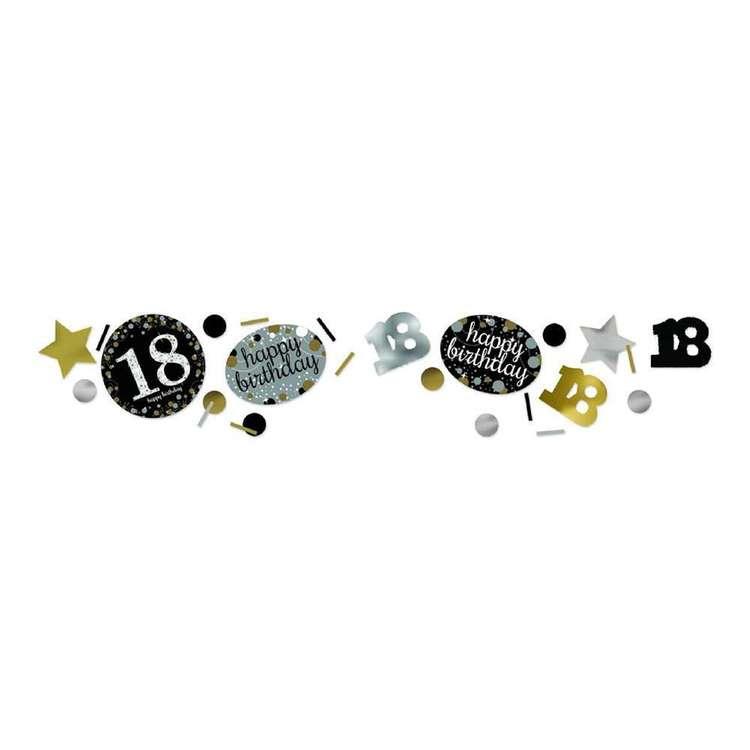 Amscan Sparkling Celebration 18th Birthday Confetti