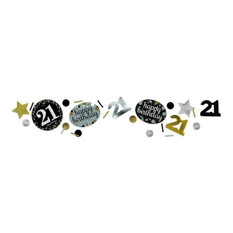 Amscan Sparkling Celebration 21 Confetti