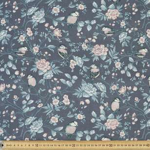 Floral Printed 112 cm Country Garden TC Poly Cotton Fabric