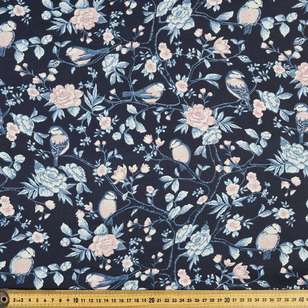 Birdy Printed 112 cm Country Garden TC Fabric