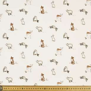 Little Babies Printed 112 cm Country Garden TC Fabric