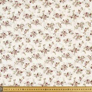 Buds Printed 112 cm Country Garden TC Fabric