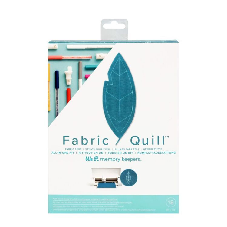 We R Memory Keepers Fabric Quill Kit