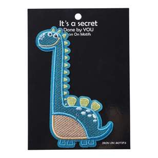 Baby Dino Iron On Motif Brachiosaurus 1