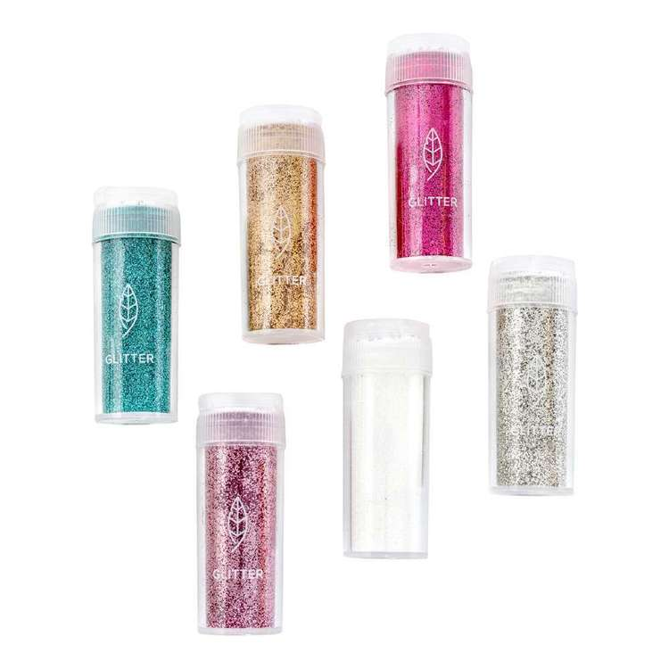 We R Memory Keepers Glue Quill Glitter multi 6Pk