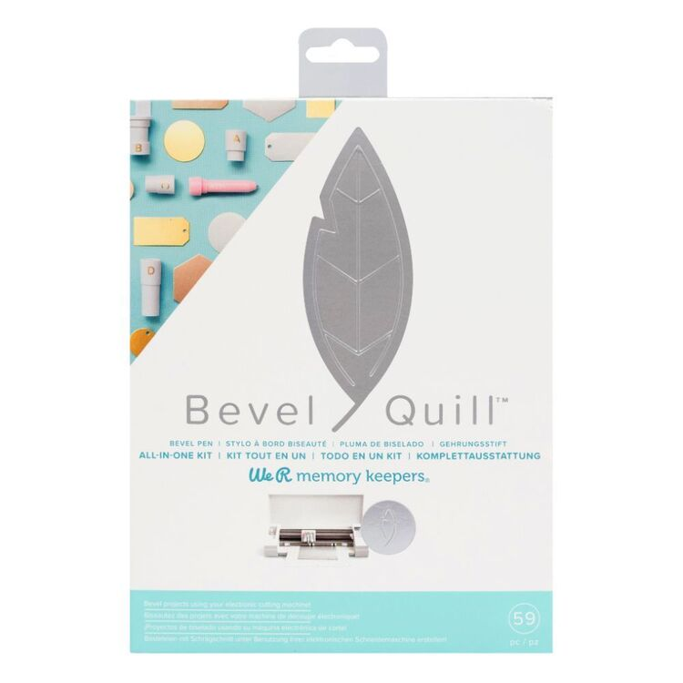 We R Memory Keepers Bevel Quill Kit