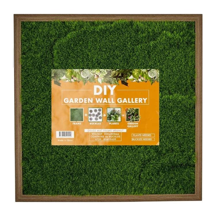 Garden Wall Gallery Buckle Plant Grass Mat Frame