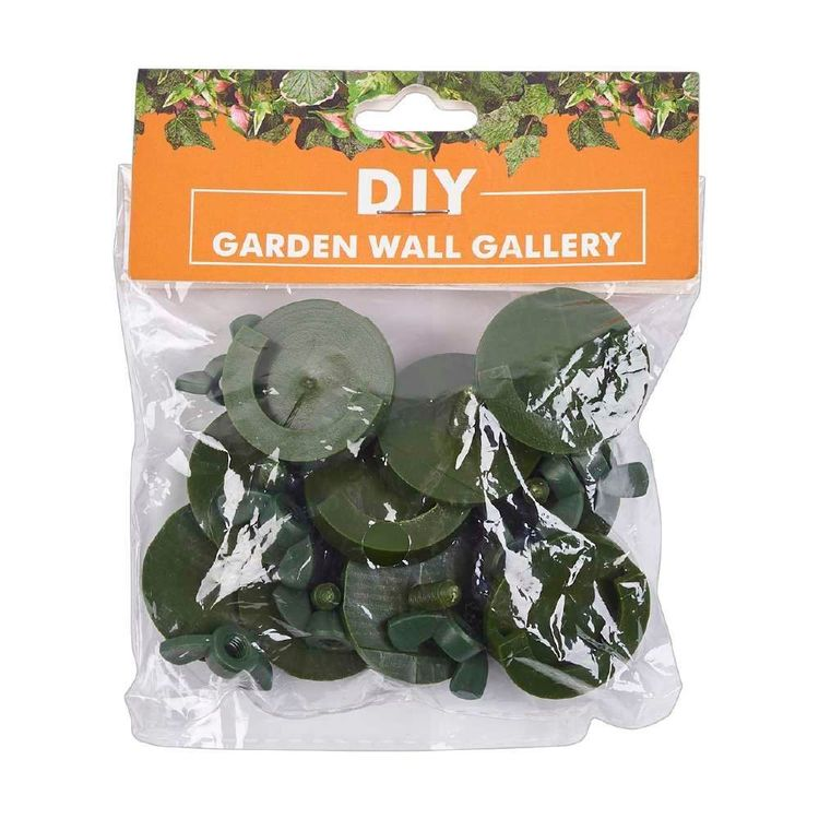 Garden Wall Gallery Round Plant Buckles 10 Pack