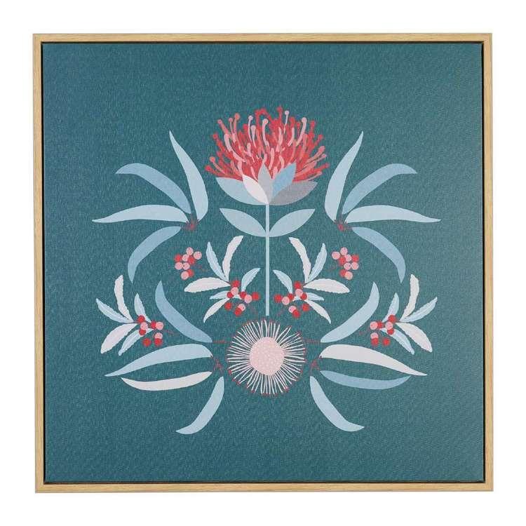 Koo Jocelyn Proust Waratah Luxe Framed Art