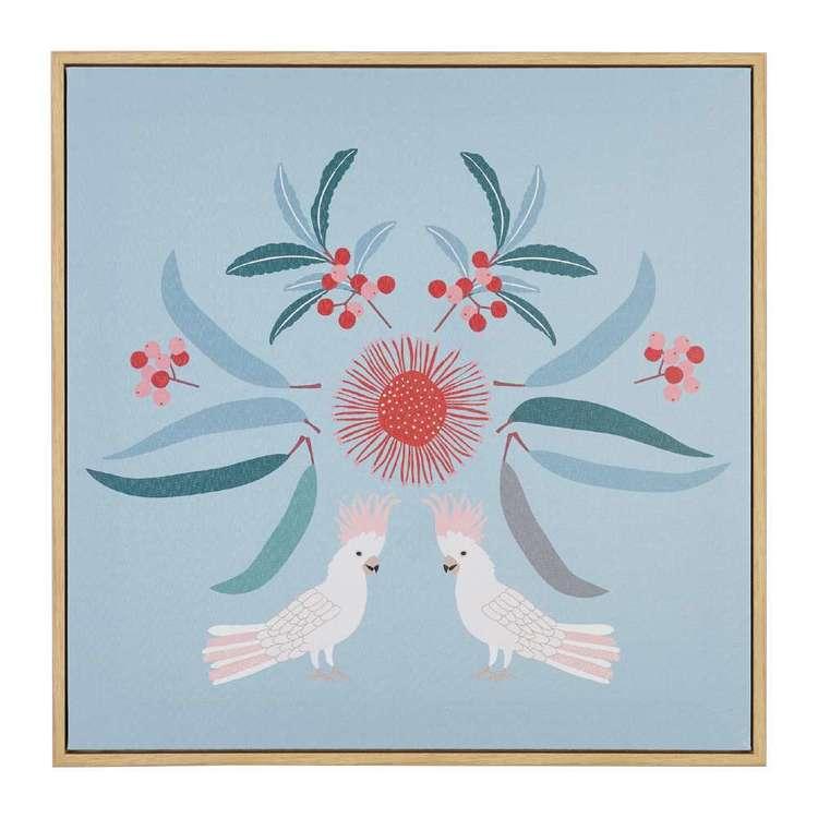 Koo Jocelyn Proust Cockatoo Luxe Framed Art