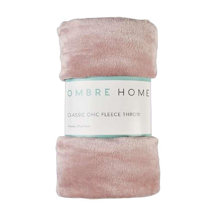 Ombre Home Classic Chic Fleece Throw