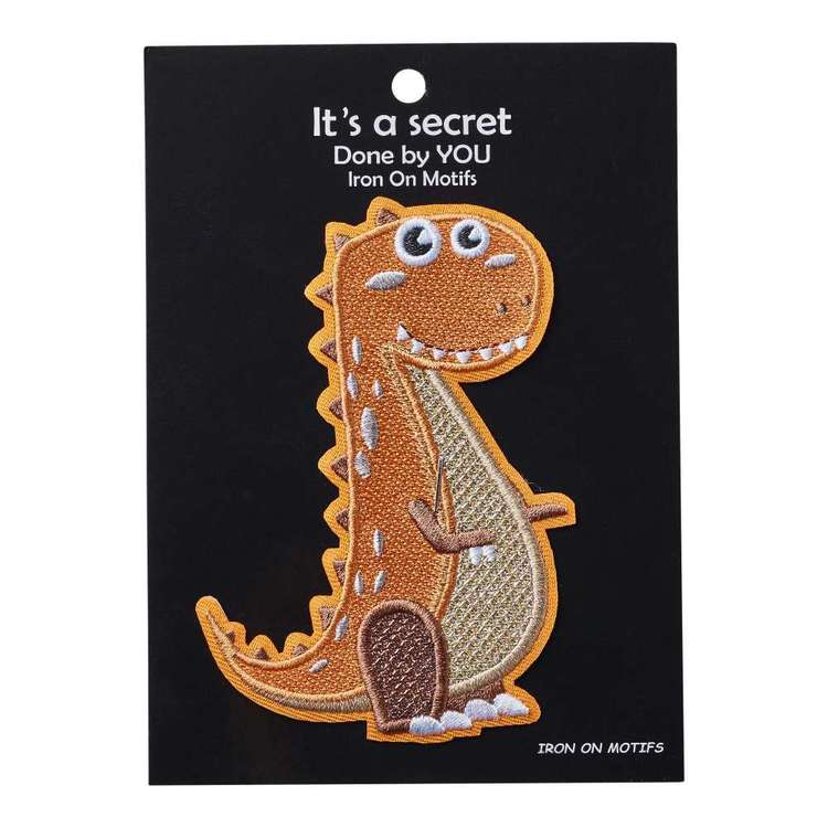 Baby Dino Iron On Motif T-Rex