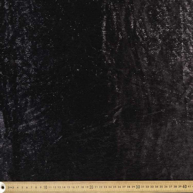 Costume Range Black Pleather Fabric