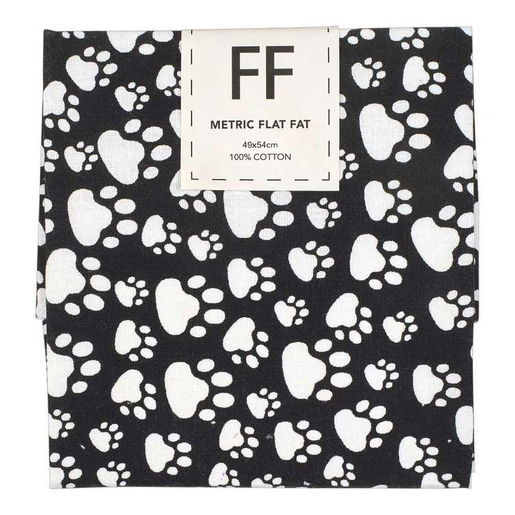 Mix Monotones Paws Cotton Flat Fat