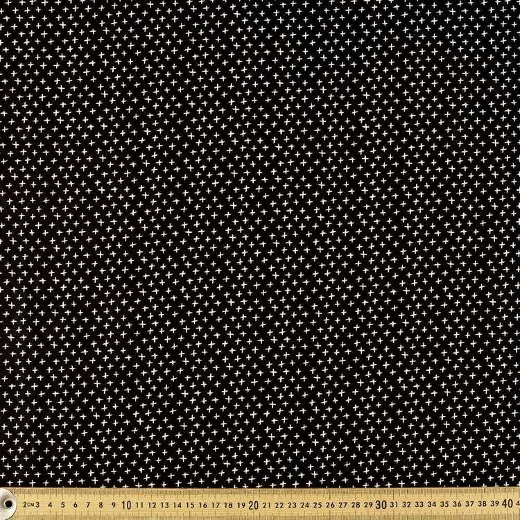 Mix Monotones Crosses Cotton Fabric